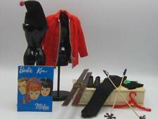 Ski Champion Ken outfit Tm Label Barbies #798 Htf glasses Mint complete 1963-64