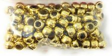 Or 6 mm Craft Crow Perles Pack 100