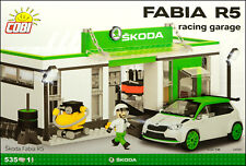 COBI Skoda Fabia R5 Racing Garage (24580) - 535 elem. - 1:35 scale