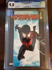 Ultimate Comics Spider-Man 1B; Origin Ultimate Miles Morales CGC 9.0 🔥KEY