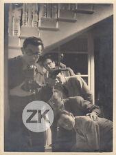 AUTOPORTRAIT André DINO Rolleifleix Miroir Jacques BECKER Rouleau Photo 1942