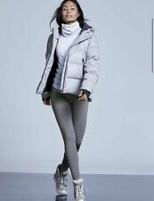 ATHLETA PrimaLoft Alpine Valley Tight Leggings M TALL MT Grey Fleece Lined