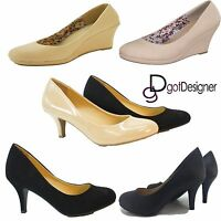 Women's Shoes Fashion Casual Low Heel Ballet Loafers Slip On Oxford New Size5-11