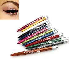 12 Color Pro Charm Waterproof Eye Shadow Lip Liner Eyeliner-Pen Pencil Makeup FT