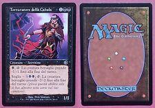 4x Torturatore della Cabala  - Magic MTG Tormento