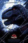 T-Rex Jurassic Park Screen Print Poster #91/250 Florey Bottleneck Gallery