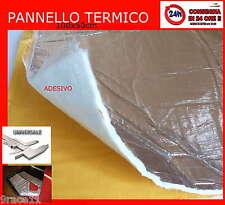 PROTEZIONE calore alte temperature ADESIVO foglio da 1m x 50cm  +3m di nastro AL