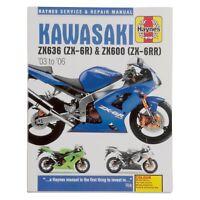 Kawasaki Zx6r Zx6rr Ninja Service Manual 2003 2004 Maintenance Repair Zx 600 636 Ebay