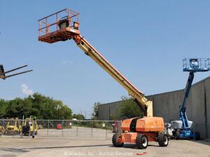 2013 JLG 800S 80' 4WD Diesel Telescopic Boom Lift Man Aerial Platform bidadoo