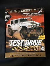 VINTAGE Test Drive Off-Road (PC, 1997) CD-ROM BIG BOX GAME COMPLETE PREOWNED KA