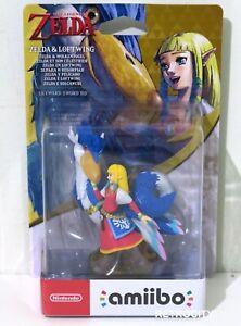 *Brand New* Zelda & Loftwing Amiibo AUS Nintendo - Legend of Zelda Skyward Sword