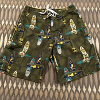2004  SIMPSONS Vintage Swim Board Shorts Trunks Krusty Bart Homer Mens 30 EUC