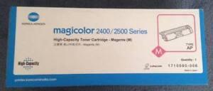 Konica Minolta 2400/2500 Series High Capacity Magenta Toner Cartridge (Type: AP)