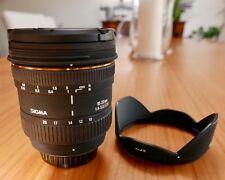 Sigma EX 10-20mm F/4.0-5.6 HSM DC Lens For Pentax - super wide angle - Bundle