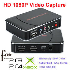 USB HD Video Capture Card 1080P HDMI Audio Recorder Game Box For Xbox PS4 TV DVD