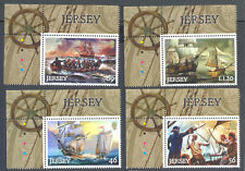 Jersey-Pirates Set neuf sans charnière-NAVIRES - 2014