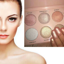 6 Colors Makeup Face Powder Highlight Concealer Bronzer & Highlighter Cosmetics