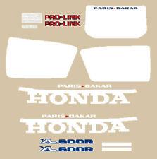 honda XL 600 R Paris Dakar serie adesivi series stickers