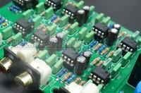 Preamplifier electronic three-way board dividers Power amplifier board
