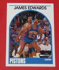 # 284 JAMES EDWARDS DETROIT PISTONS 1989 NBA HOOPS BASKETBALL CARD