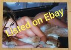 MELANIA TRUMP MODEL A YOUNG FIRST LADY WHITE HOUSE 5 x 7 PHOTO Sexy PICTURE