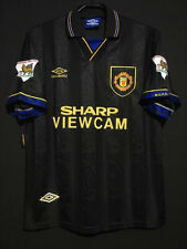 1993-95 Manchester United Away Shirt #7 Cantona In All Sizes By Umbro