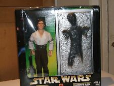 "Star Wars Han Solo & Carbonita bloque 12"" Acción Figura En Caja Set"