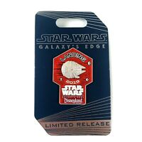 Disney Parks Star Wars Galaxy's Edge Landing 2019 CM Limited Red Falcon Pin