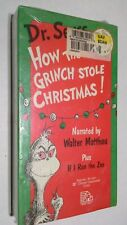 Dr. Seuss How The Grinch Stole Christmas & If I Ran The Zoo Vhs - Walter Matthau