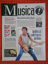 rivista MUSICA! REPUBBLICA 168/1998 Springsteen Zucchero Alanis Morissette No cd