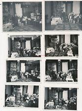 8 x Foto, Weihnachtsbescherung in Erfurt 1933, Weihnachten (N)19913