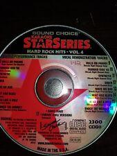 Sound Choice Karaoke Star Series Hard Rock Hits Vol 4