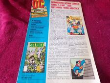 Vintage DC Direct Currents #2 Newsletter: Introducing Action Comics Weekly #601