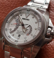 Mens Seiko Velatura Kinetic Direct Drive WR100,Sapphire glass,all stainless stee