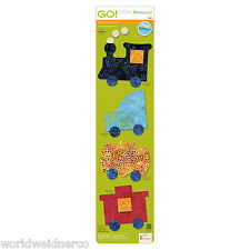 AccuQuilt GO! & Baby Fabric Cutter Cutting  Die Train 55367 Quilting Applique