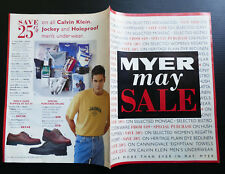 1997 vintage MYER 28 page Catalogue Catalog Fashion Clothes Furniture 1990's