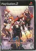Shinki Gensou Spectral Souls II PlayStation2 SLPM-65860 PS2 JAPAN s4709