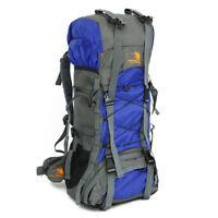60L Nylon Waterproof Outdoor Camping Hiking Bag Backpack Rucksack Travel Daypack