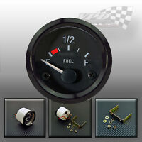 "Fuel gauge 52mm / 2"" universal car van boat interior dash panel fit"