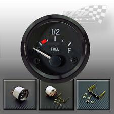 "Fuel gauge 52mm / 2"" universal car van boat dash panel fit"