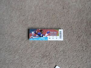 2018 Columbus Clippers Baseball Ticket Stub Tyler Holt Game Saving Playoff Catch