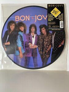 Bon Jovi - Slippery When Wet Picture Disc Lp (New)