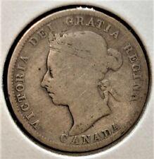 1892 Canadian Silver Quarter