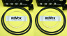2x REVOX Counter Belt B77 PR99 A77 Toothed  Rubber Pulley Kit ++DOUBLE BUBBLE++