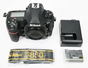 Nikon D850 45.7MP Digital SLR Camera (Body Only)