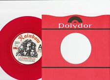 RAINBOW ~ LA CONNECTION/LADY OF THE LAKE~ 1978 UK POLYDOR ~ RED VINYL~ DIO
