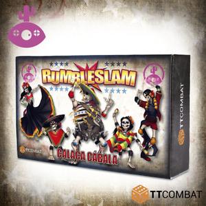 Rumbleslam BNIB Calaca Cabala TTRSX-MOO-002