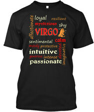 Virgo Affectionate Loyal Zodiac Hanes Tagless Tee T-Shirt