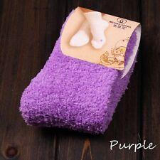 Cute Soft Thick Warm 10 Candy Colors Floor Socks Slipper Socks Fuzzy Hosiery