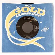 "ALABAMA Dixieland Delight/ Lady Down On Love 7"" 45 VINYL"